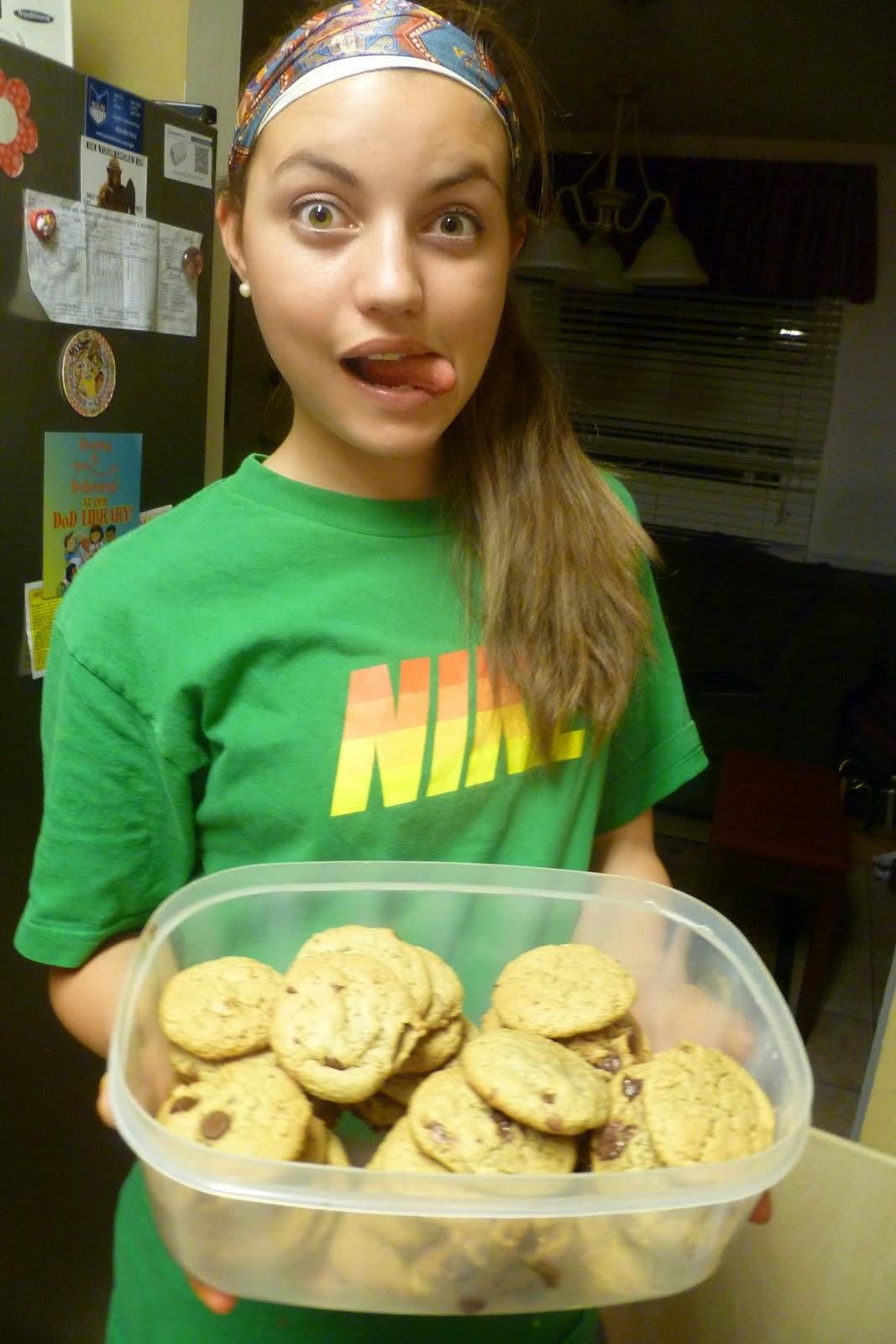 Eliza's vegan cookies