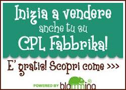 Vendi le tue creazioni su CPL Fabbrika