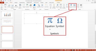 PowerPoint Insert Symbol