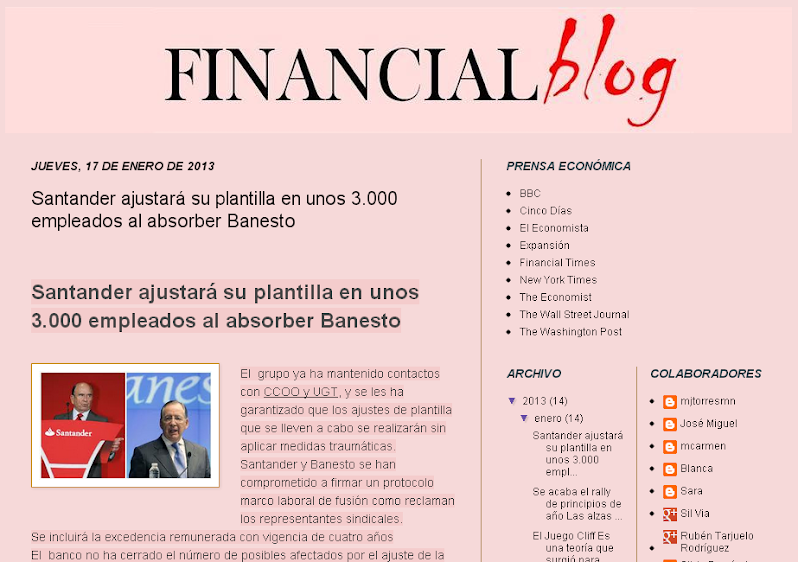 FINANCIAL BLOG