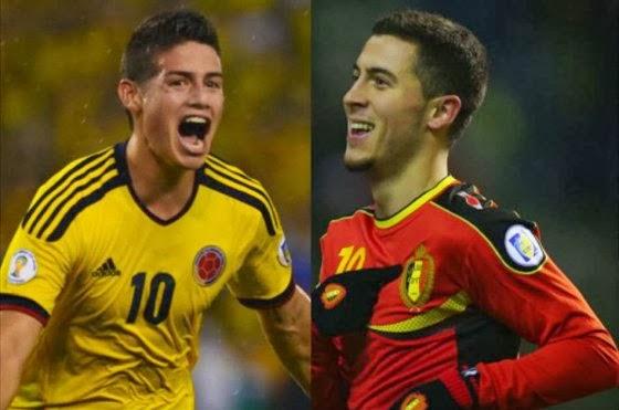 Belgica vs Colombia