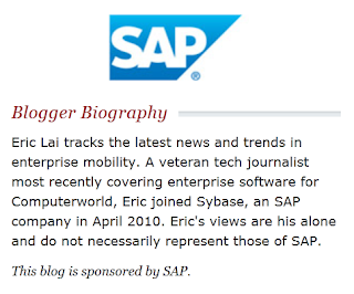 SAP sponsored blog post