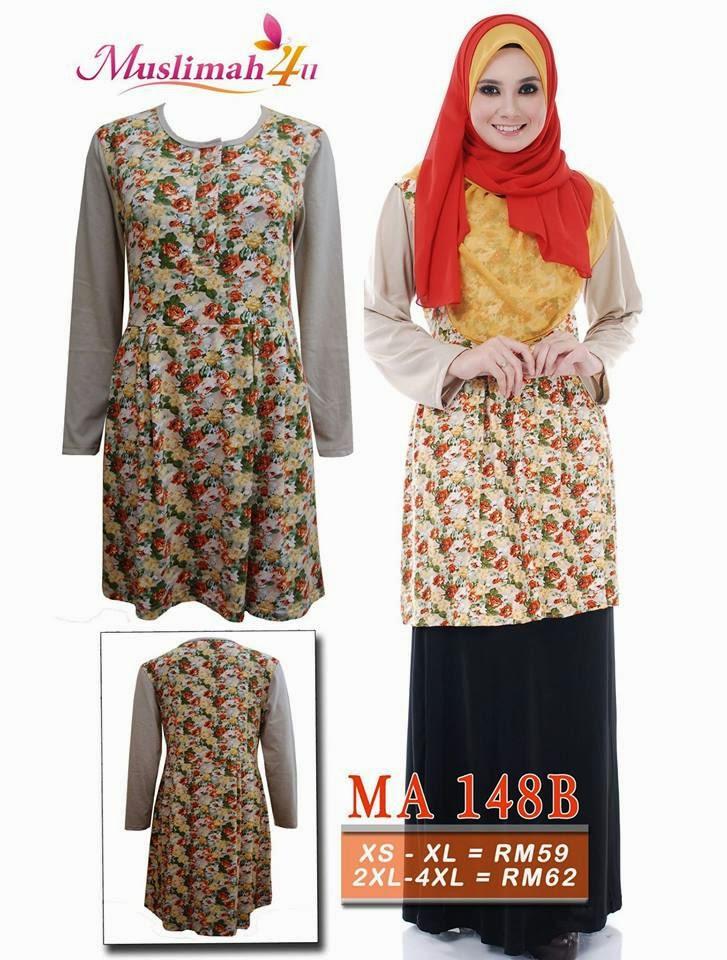 T-shirt-Muslimah4u-MA148B