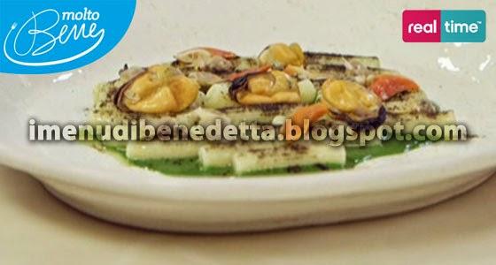Pasta ai Frutti di Mare con Maionese di Pesce di Benedetta Parodi