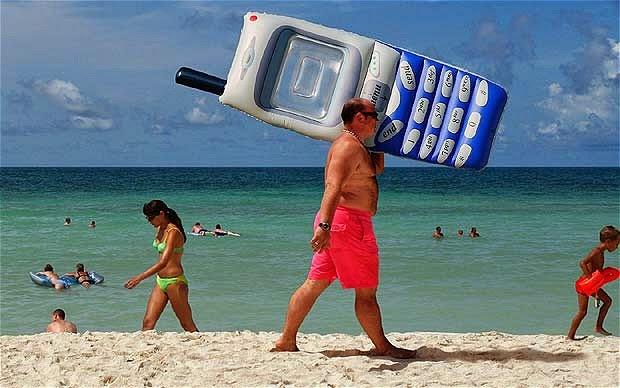 imagen para cuidar móvil este verano