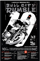 2014 Bull City Rumble Poster