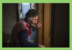 Una anciana de 85 años, desahuciada por avalar un préstamo de su hijo