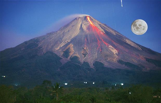 Asal Usul Gunung Merapi