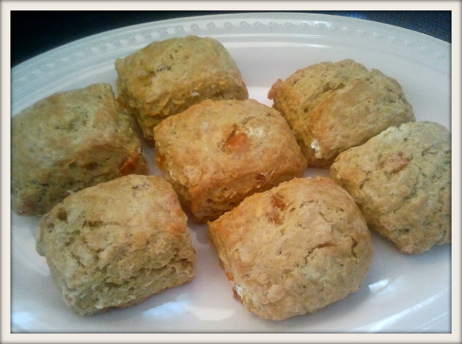 RECIPE: Orange Cardamom Oatmeal Scones