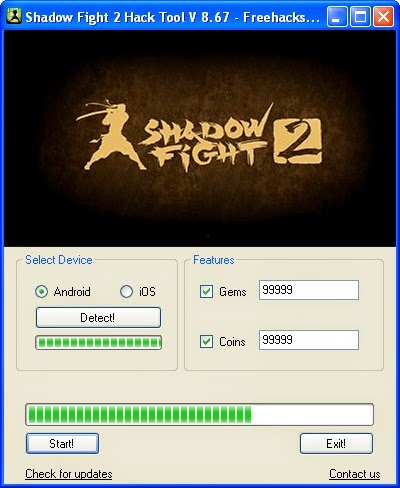 shadow fight 2 hack level 99