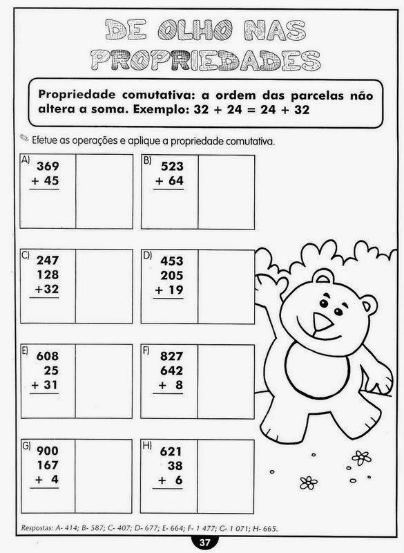 Super ATIVIDADES DE MATEMÁTICA PARA O ENSINO FUNDAMENTAL CT03
