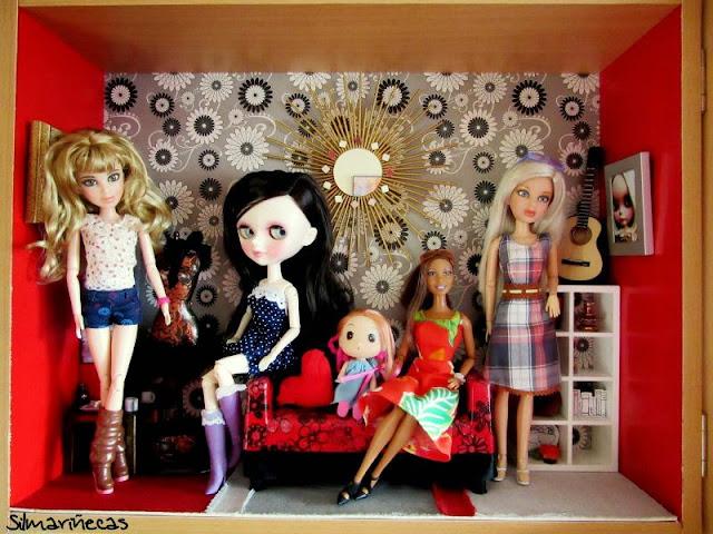 Liv doll, tangkou doll, ddung doll, barbie