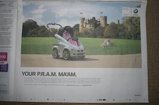 BMW April Fools Day 2013 PRAM