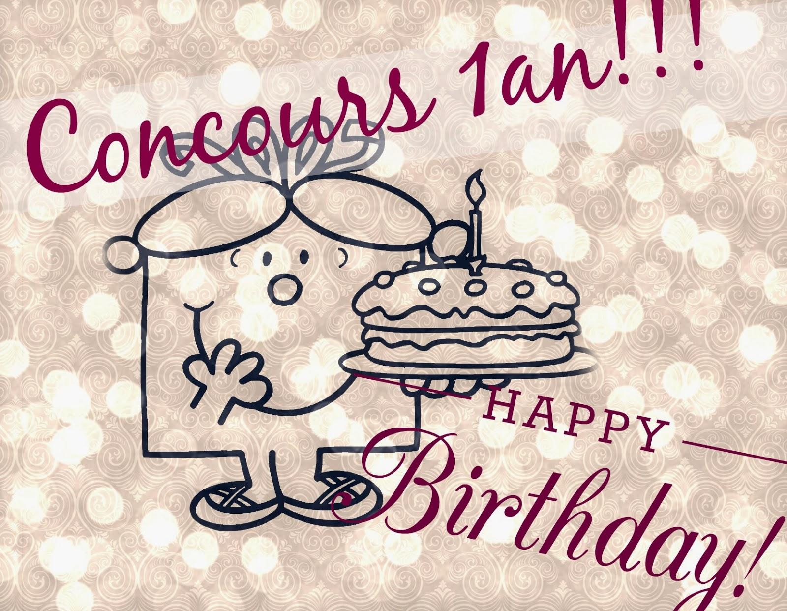 Concours des 1 an du blog - AromaZone / Etat Pur - Happy Birthday!!