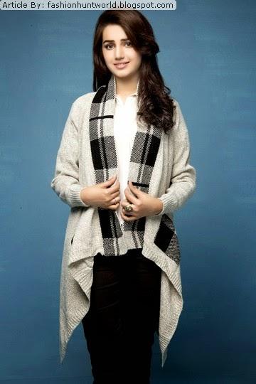 Pandapang Big Girls Mock Neck Knit Pullover Cute Plush Sweaters