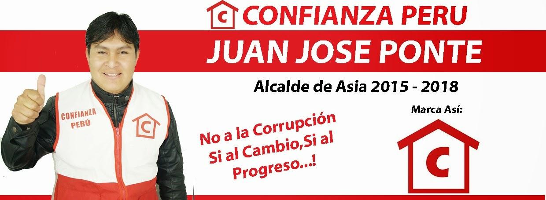Juan José Ponte - Alcalde de Asia