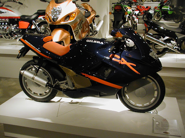 Gilera CX125 Motorcycle Barber Museum