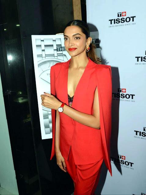 Deepika Padukone Hot Photos In Delhi For Tissot