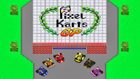 Pixel Karts GP Plus: retro-themed kart racer game