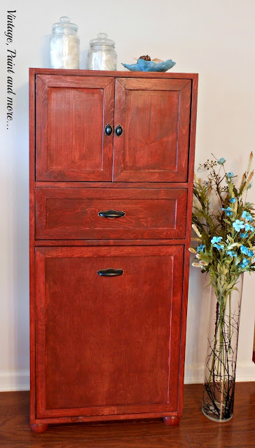 Vintage, Paint and more... DIY multipurpose cabinet