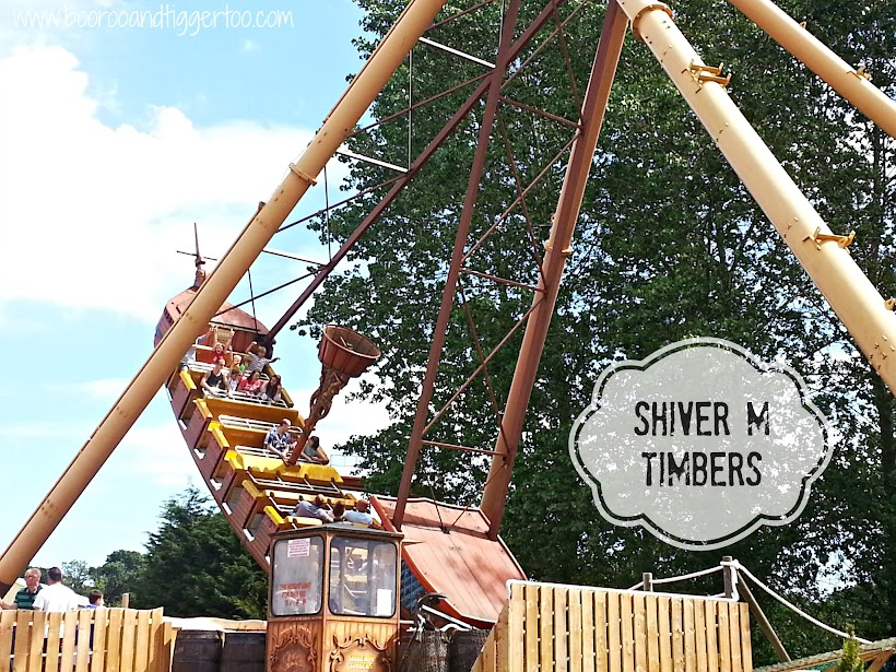 Shiver M Timbers - Pleasurewood Hills, Lowestoft