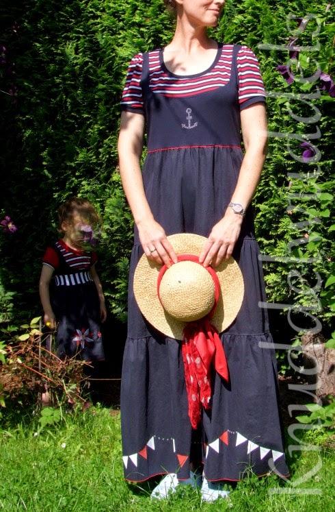 Kleid aus Malina (KiBaDoo, Frau Liebstes) kleines Kleid aus Lina