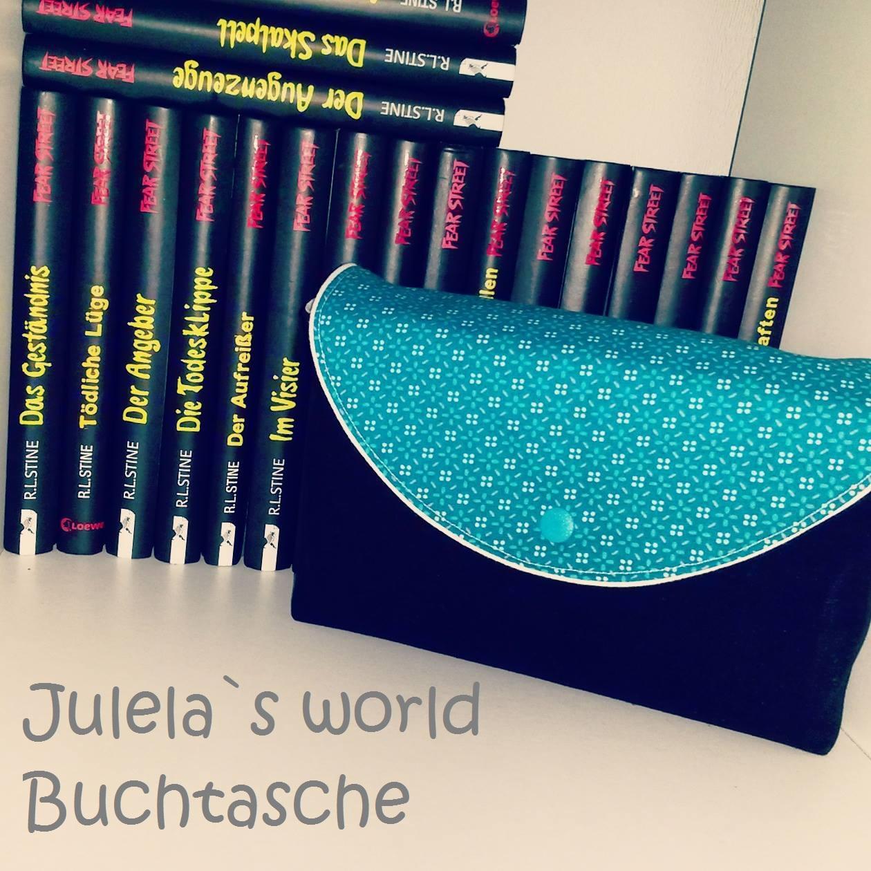 julela´s world: Freebook Buchtasche