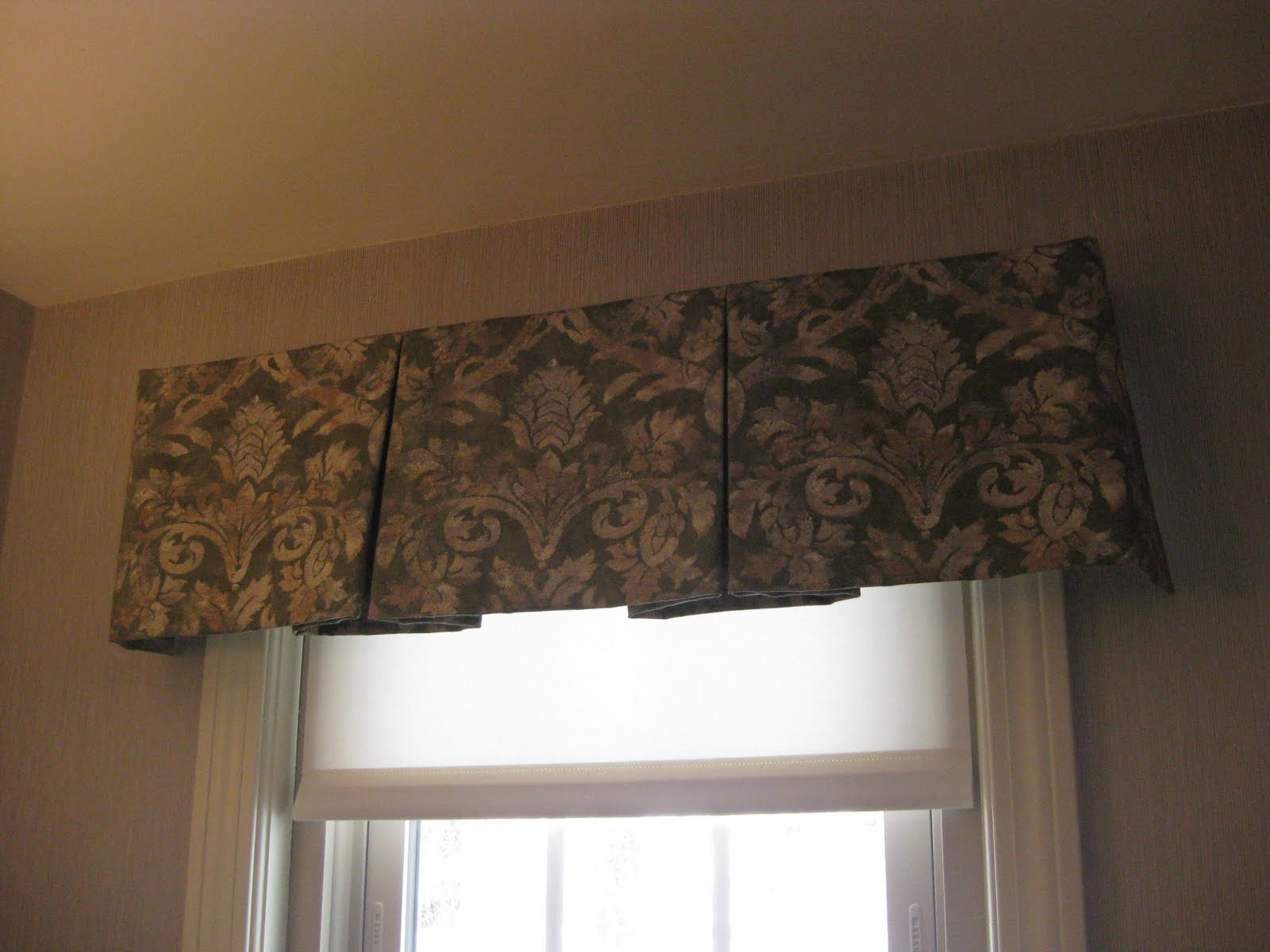 Valances for Professional window treatment patterns