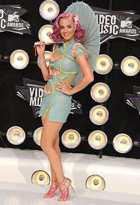 10 Best Fashion at MTV VMA 2011: Katy Perry