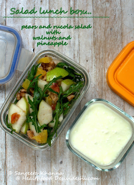 lunch box salads