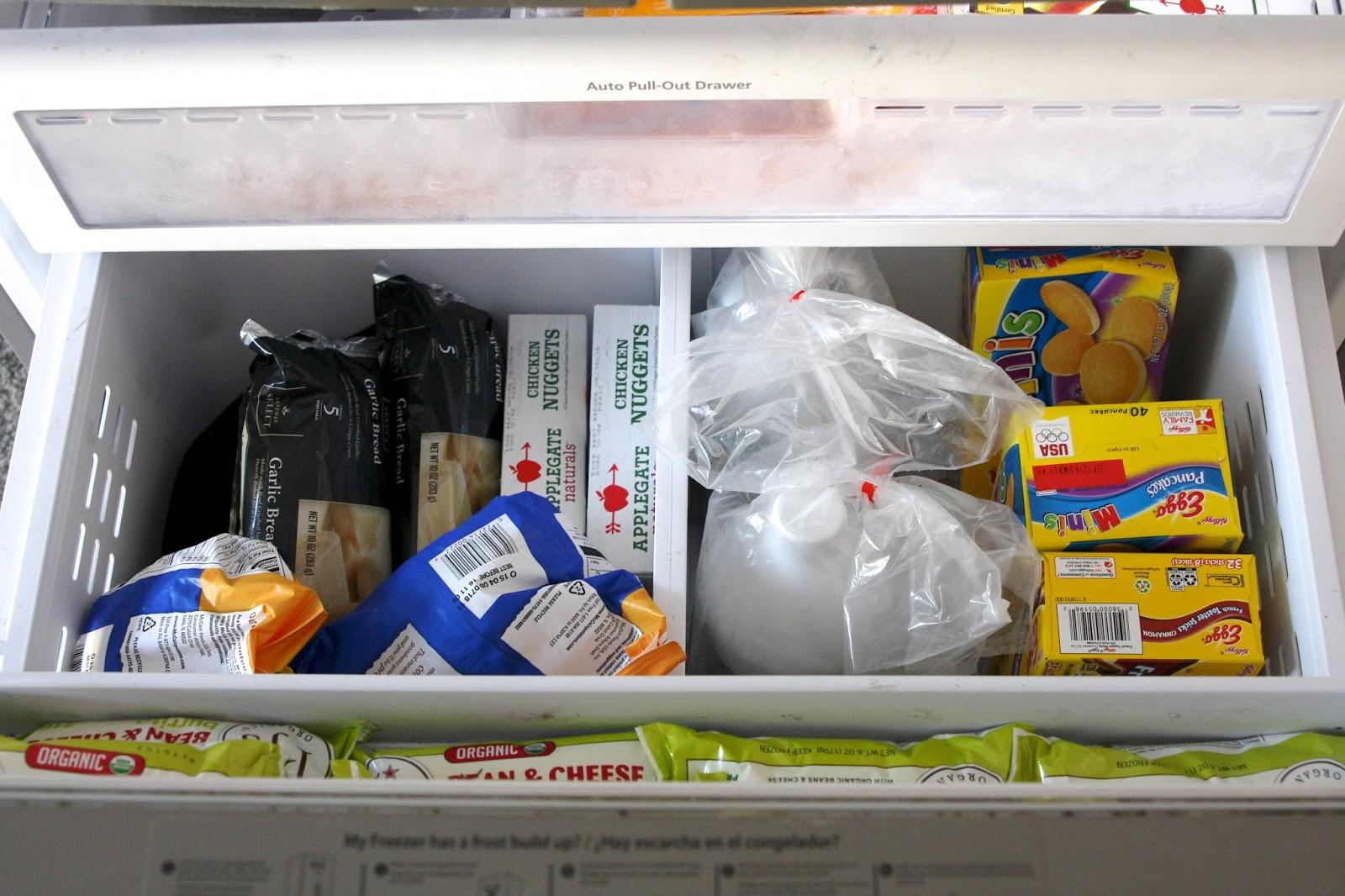 organized freezer drawers simply organized bloglovin