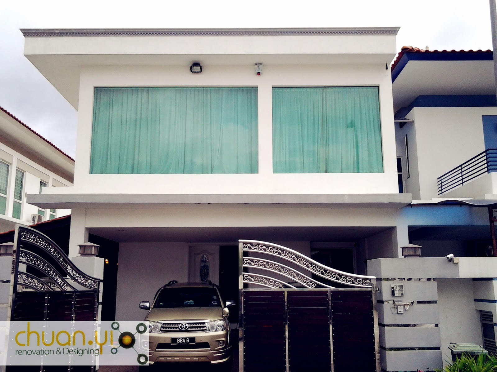 Modern House Car Porch Tiles Design Joy Studio Design