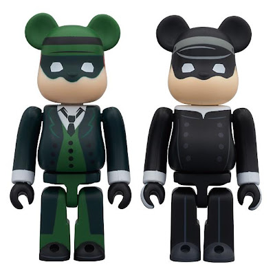The Green Hornet Bearbrick 2-Pack by Medicom - Green Hornet & Kato