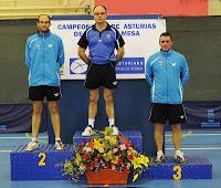 Podio Absoluto individual masculino 2013