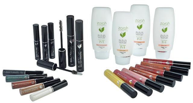 zorah biocosmétiques lancement gamme maquillage biologique bio québec huile d'argan