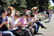Всемирный день вязания на публике: 8 июня 2013  Красноярск