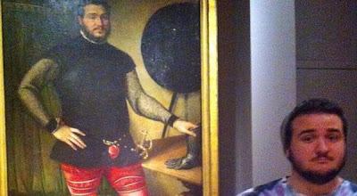 Unik, Wajah Pria ini Mirip Lukisan di Abad ke-16!