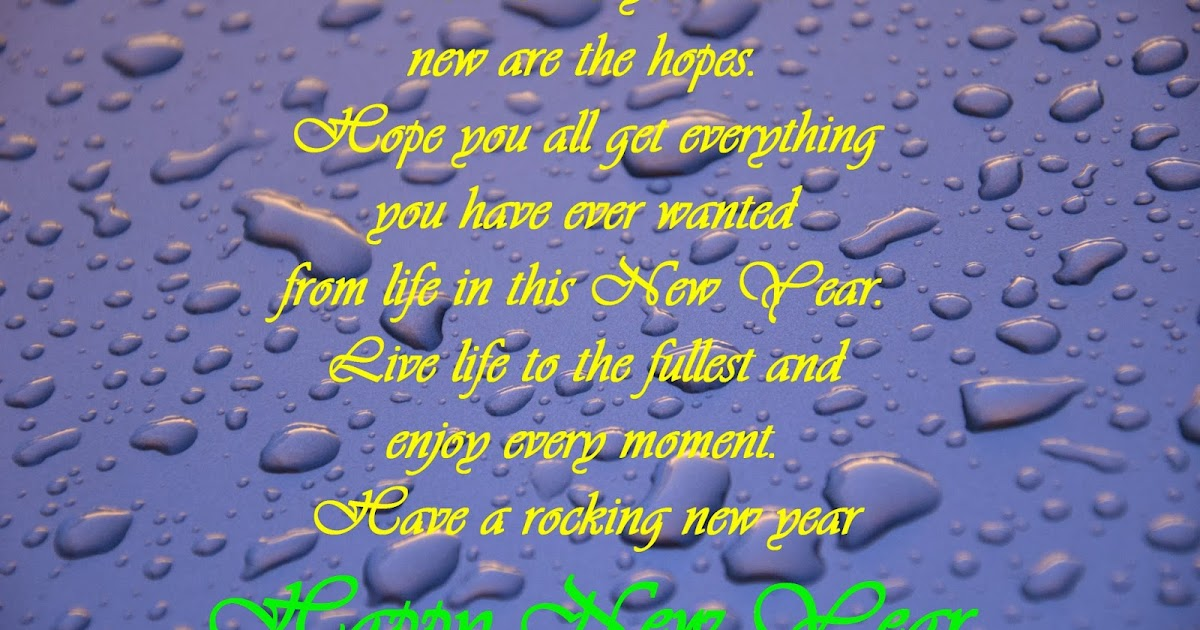 Happy New Year Facebook Status 13 - Best New Year Wishes