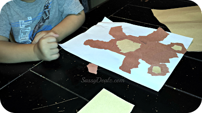 teddy bear art project for preschoolers