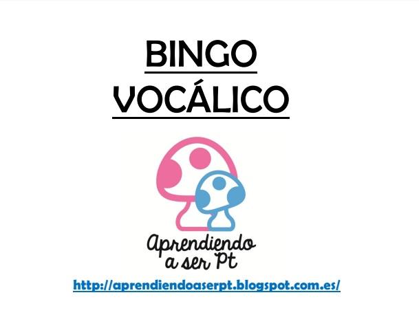 Bingo vocálico