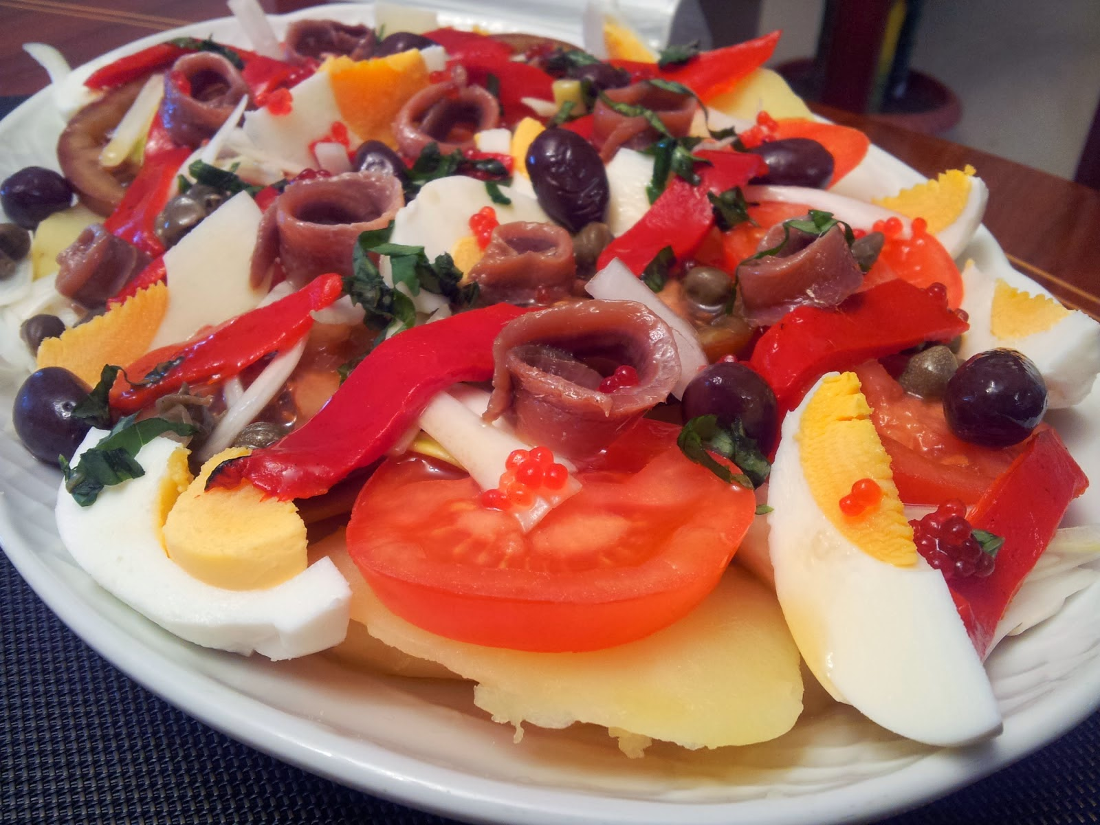 Dieta Propoints Recetas Por Puntos De Ensalada De Patatas Con Anchoas
