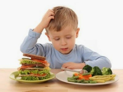 Tips Memupuk Anak Makan Sayur