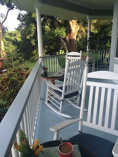 Carrie's Hawaii trip - Favorite reading spot