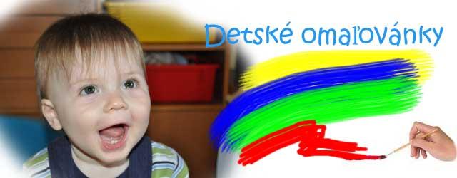 Detské omaľovánky online