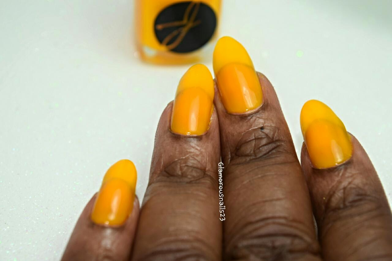 #089 Mustard Yellow Swatch; Jior Couture