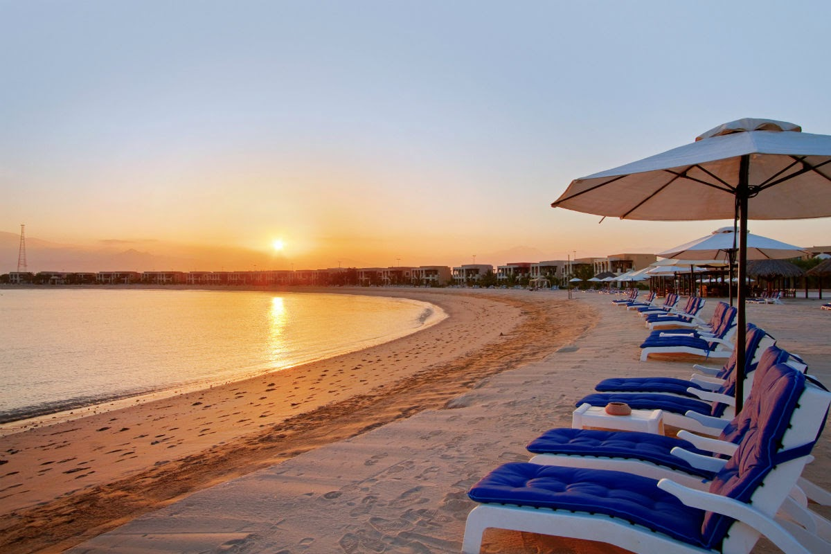 Hilton Ras Al Khaimah Resort & Spa offers 1.5km of private beach