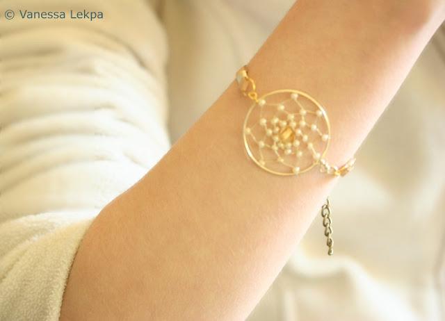 bijoux fait main attrape rêves evanescentes
