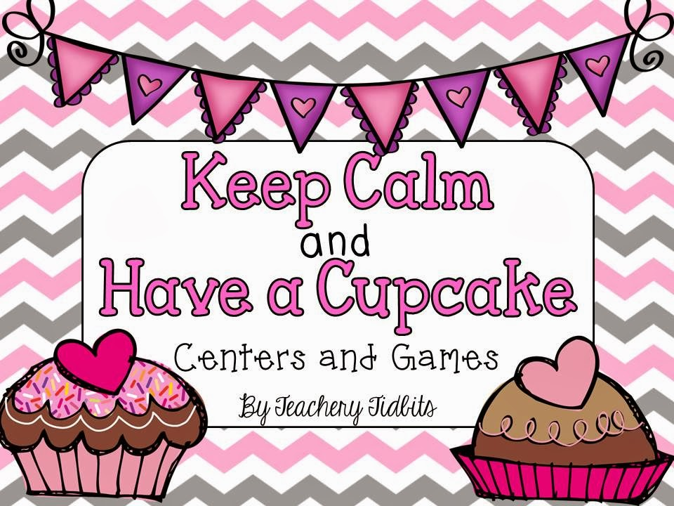 http://www.teacherspayteachers.com/Product/Keep-Calm-and-Have-a-Cupcake-Centers-and-Games-1102684