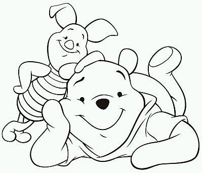 Imagenes De Winnie Pooh Para Colorear Con Frases - ARCHIDEV