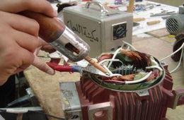 ورشة لف الآلات الكهربائية - Winding